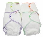 Imse Vimse Organic Terry Contour Diapers One Size 4-pack