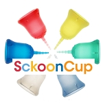 Sckoon Menstrual Cup- Plus Organic Cotton Pouch