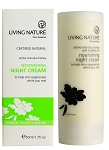 Living Nature Nourishing Night Cream | Normal/Dry Skin