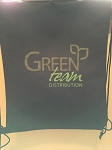 Green Team cinch Back Pack