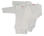 Sckoon Organic Cotton Long Sleeve Body Suit (2 piece set)