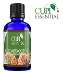 Cupi Essential Cedarwood Oil 10mL / .3oz