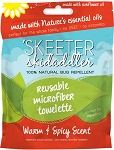 Skeeter Skidaddler 100% Natural Bug Repellent Microfiber Towelettes
