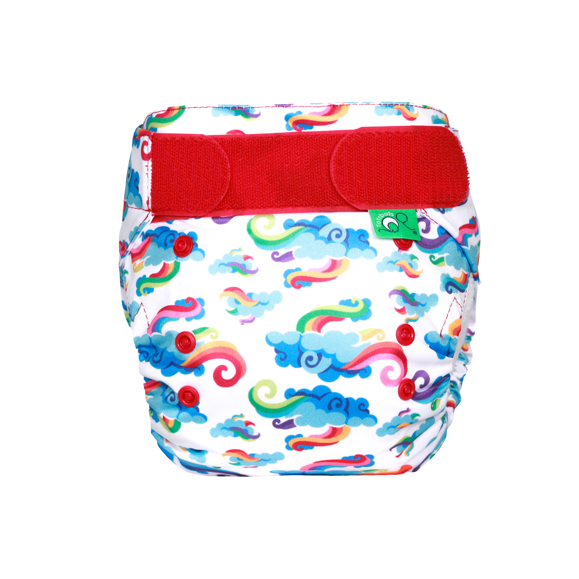 Birth to Potty 8-35lbs TotsBots Easyfit Star All-in-One Reusable Nappy Nutty