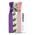 popband Hairband set of 3 - Mauve Unicorn