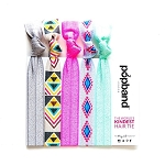 popband Hairband set of 5 - Tribal