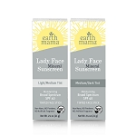 Earth Mama Organics Lady Face Mineral Sunscreen Face Stick SPF 40