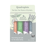 Earth Mama Organics LIP BALM QUADRUPLETS