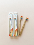 The future is bamboo - Kids Bamboo Toothbrush Singles