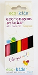 eco-kids eco-crayons sticks 10pk