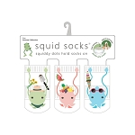 Squid Socks - Carmen Collection (Gardener, Fruit, & Ice Cream)