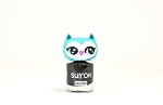 SUYON Awesome Owlia - Black & Gold Nail Polish