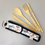 The future is bamboo - Bamboo Utensils Kits, 5 items!