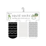 Squid Socks - Carson Collection (Tribal Print, Stripes, & Polka Dots)