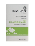 Living Nature Deep Cleansing Mask | Oily Skin | Acne