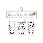 Squid Socks - Cassidy Collection (Soccer Player, Pianist, & Photographer)