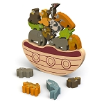 Begin Again Toys Balanced Boat Endangered Animals