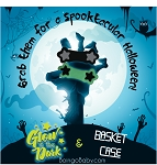 Boingo Halloween Set Special - 1 Basket Case(Black), 1 Wicked White(Glows in the Dark!)