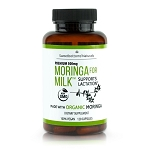 Sweetbottoms Naturals - Organic Moringa for Milk™ - 120 Capsules