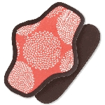 Sckoon Organic Cotton Cloth Menstrual Pad No Leak Snap-on
