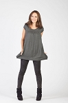 Savi Mom Nursing & Maternity Babydoll Tee w/Pockets