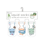 Squid Socks - Charlie Collection (Teacher, Scientist, & Doctor)
