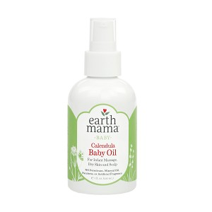 Earth Mama Organics Calendula Baby Oil 4oz