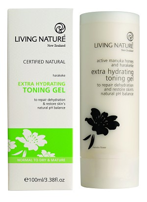 Living Nature Extra Hydrating Toning Gel | Normal/Dry Skin