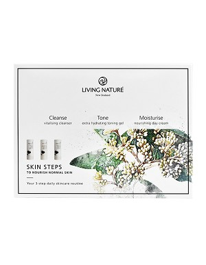 Living Nature Skin Steps To Nourish Normal Skin