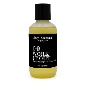 Tiny Human Supply Co - Work It Out Massage Oil