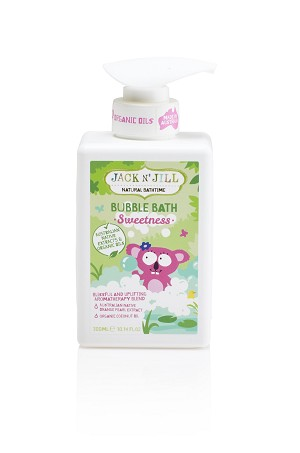 Jack N' Jill Kids Sweetness Bubble Bath, Natural Bath Time
