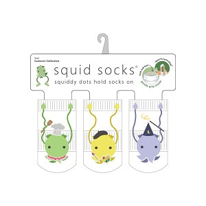 Squid Socks - Cameron Collection (Chef, Artist, Wizard)