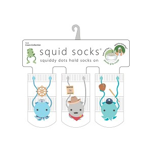 Squid Socks - Casen Collection (sailor, sheriff, baseball)