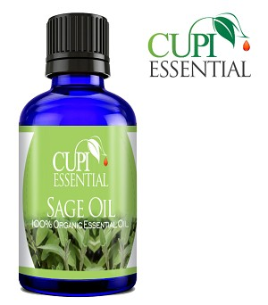 Cupi Essential Sage Oil 30mL / 1oz