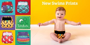 TotsBots Swim Nappy NEW 2019 Prints