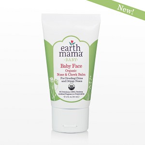 Earth Mama Organics Baby Face Organic Nose & Cheek Balm from 2. fl. oz.