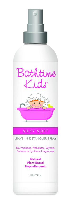 Bathtime Kids Silky Soft Leave-In Detangler Spray 8.0 oz.