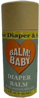 BALM Baby Diaper Balm & First Aid Ointment Stick