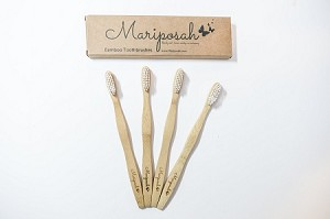 Mariposah Bamboo Toothbrushes-Sustainable, Natural, Ecofriendly, Biodegradable, Organic, Vegan