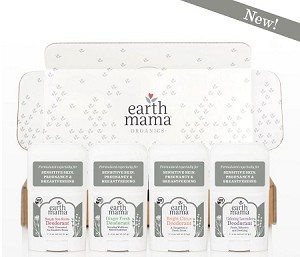 Earth Mama Organic Mini Deodorant 0.6 fl. oz. TRAVEL Size