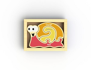 Begin Again Toys Mini Color Snail Puzzle - New!