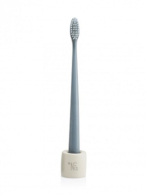 The Natural Family Company Bio Brush & Stand - Monsoon Mist