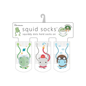 Squid Socks - Caleb Collection (astronaut, firefighter, pilot)
