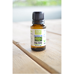RAW Pure Organic Essential Oil - Tea Tree - 15mL