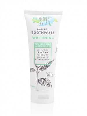 The Natural Family Company Whitening Toothpaste