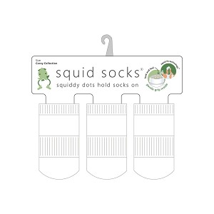 Squid Socks - Corey Collection (Solid White)